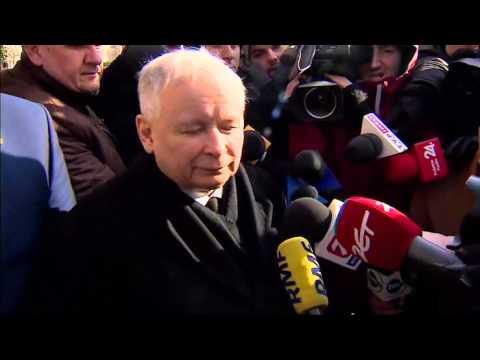 Jarosław Kaczyński po spotkaniu z Davidem Cameronem 5.02.2016