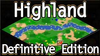 AoE2 Highland on Definitive Edition!