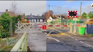 Wateringbury Level Crossing Upgrade Process (Old Vs New)