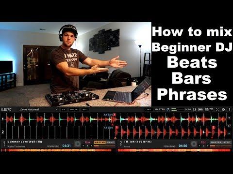 DJ tutorials: How to mix for beginner DJs | Beats Bars Phrases | Hercules DJ Control Inpulse 300