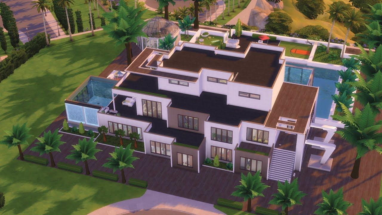 Maison A 1 Million Les Sims 4 Construction Youtube