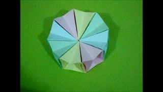 Origami Magic Circle (Traditional) (Not a Tutorial) Thumbnail
