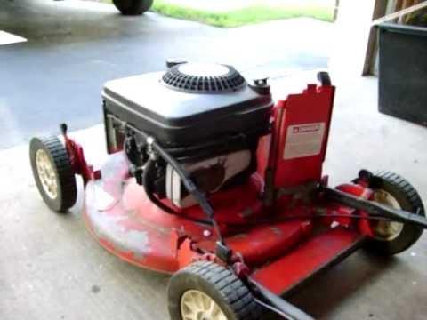 Trash Picked 1986 Homelite Jacobsen Commercial Lawn Mower
