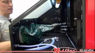 Redline RE28 Benchtop Sand Blasting Media Glass Cabinet