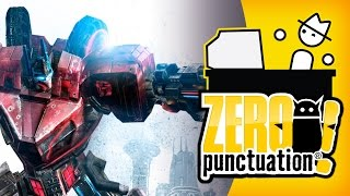 TRANFORMERS: WAR FOR CYBERTRON (Zero Punctuation) (Video Game Video Review)