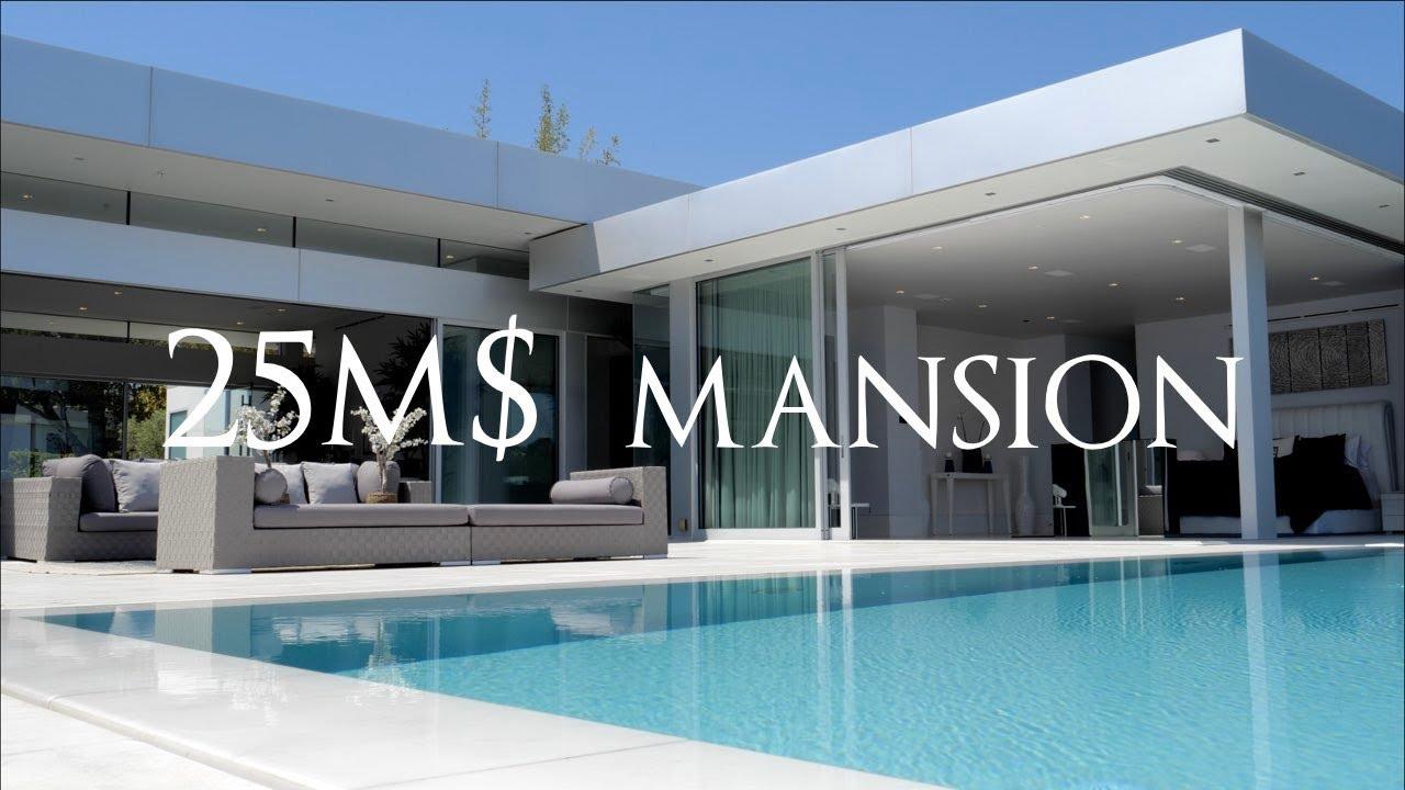 Amazing $25 Million Dollar Mansion In Beverly Hills   Los Angeles California