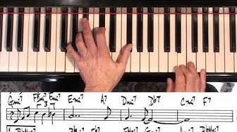 Jazz Piano College | tutorial | I Thought About You