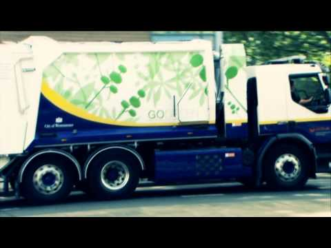 Diesel-electric hybrid truck - Veolia in partnership with Westminster City Council