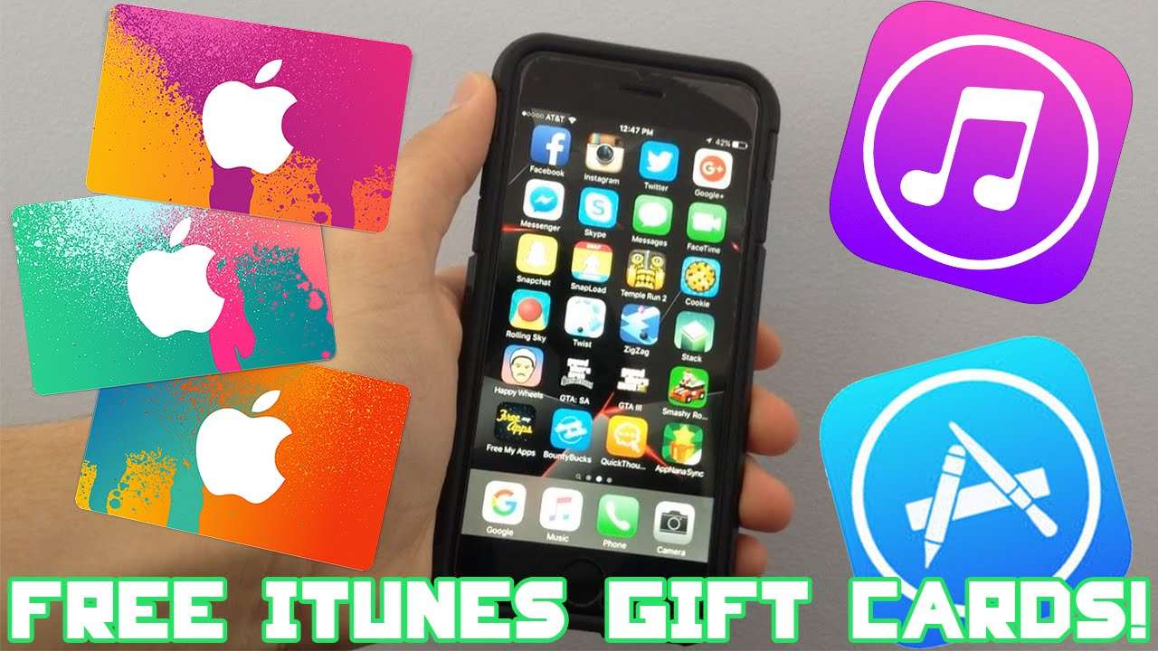 How To Get FREE iTunes Gift Cards LEGAL (Working 2019!) - YouTube
