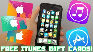 BEST Way To Get FREE iTUNES GIFT CARD CODES 2016 [LEGAL] 100% LEGIT