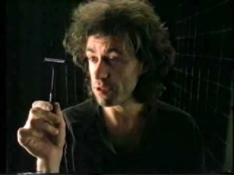 Wilkinson Sword advert, bob geldof