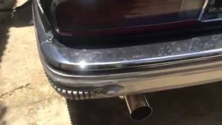 Buick park avenue ultra walk around engine look