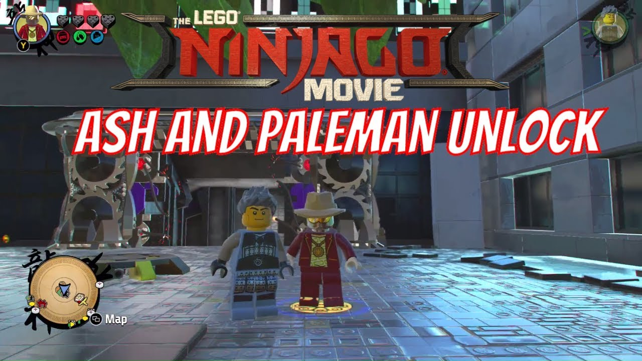 The LEGO Ninjago Movie Video Game Ash and Paleman Unlock ...