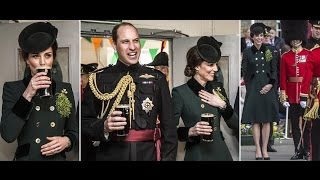Kate Middleton enjoys a Guinness with Prince William