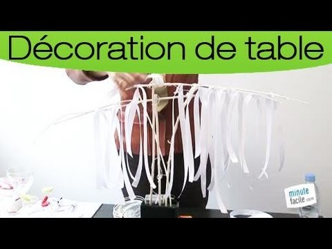 Tapes pour faire un centre de table a rien youtube - Faire un centre de table ...