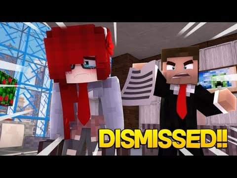 Your Fired! Anna loses her Job and has to get Help from Steve. (Minecraft Roleplay)