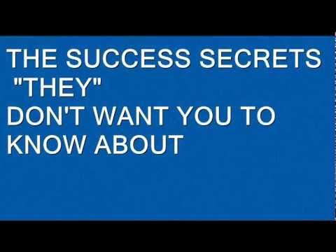 THE SUCCESS SECRETS