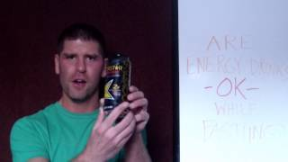 Is It OK to Drink Energy Drinks While Intermittent Fasting? (Do The Calories Terminate Your Fast?)