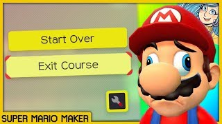 Mayro made me a Mario Maker Level that I almost couldn't beat