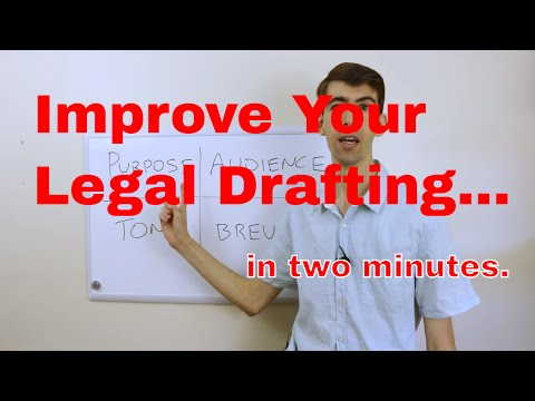 The Four Fundamentals of Good Legal Drafting