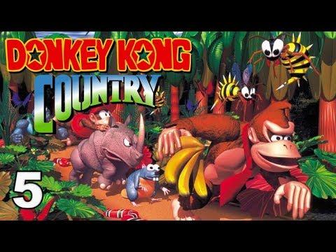 Donkey Kong Country | Parte 5 Terminando Gorilla Glacer - Español
