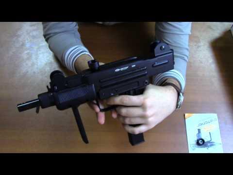 Пневматический пистолет-пулемет Gletcher UZM (Uzi)
