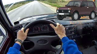 2010 LADA NIVA 4x4 (ВАЗ 2121)   Езда от первого лица   POV Test Drive #12