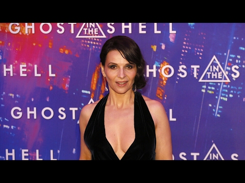 """Ghost In The Shell"" interview with JULIETTE BINOCHE"
