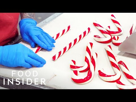 100-Year-Old Candy Factory Makes 10 Million Candy Canes Per Year   Legendary Eats