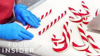100-Year-Old Candy Factory Makes 10 Million Candy Canes Per Year | Legendary Eats