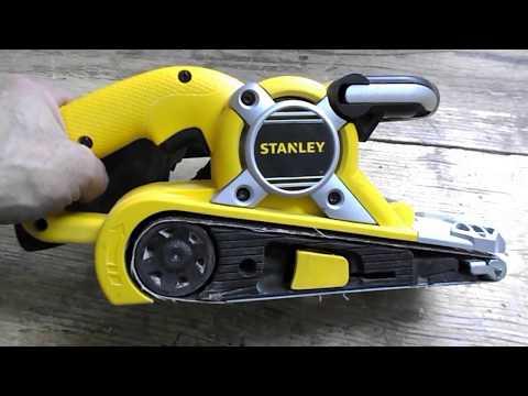Шлифмашина ленточная Stanley STBS720 (ремонт, отзыв).
