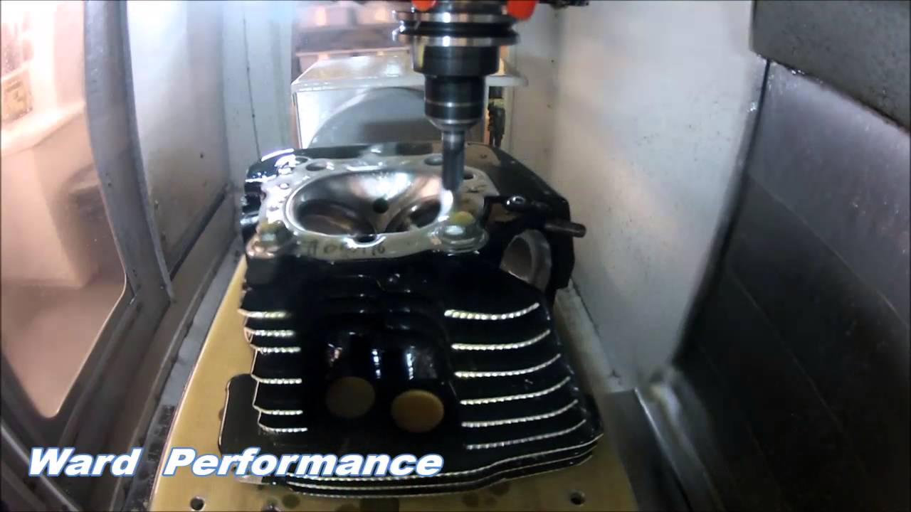 103 Twin Cam CNC Head Porting Video