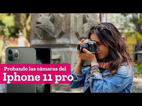 Videotest o prueba de video de las cámaras del apple Iphone 11 pro con Mariannela Cataño