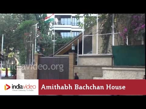 Bollywood Celebrity Home Amithabh Bachchan Jaya