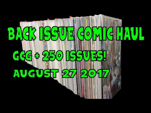 Back Issue Comic Haul August 27 2017