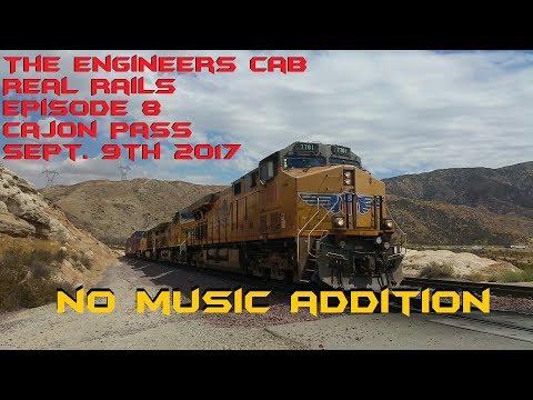 Cajon Pass Mile Post 62.8 to Summit NO MUSIC Sept. 9th 2017 Episode 8 V2.0: TEC Real Rails Cajon