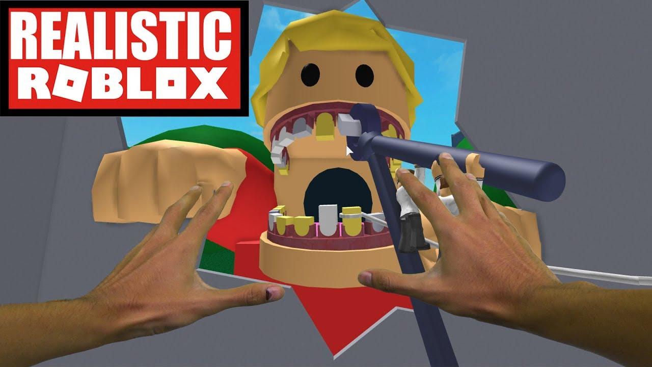 Realistic Roblox Escape The Evil Dentist In Roblox