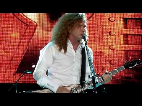 Megadeth - Prince of Darkness Intro / Trust - Live 7-14-13