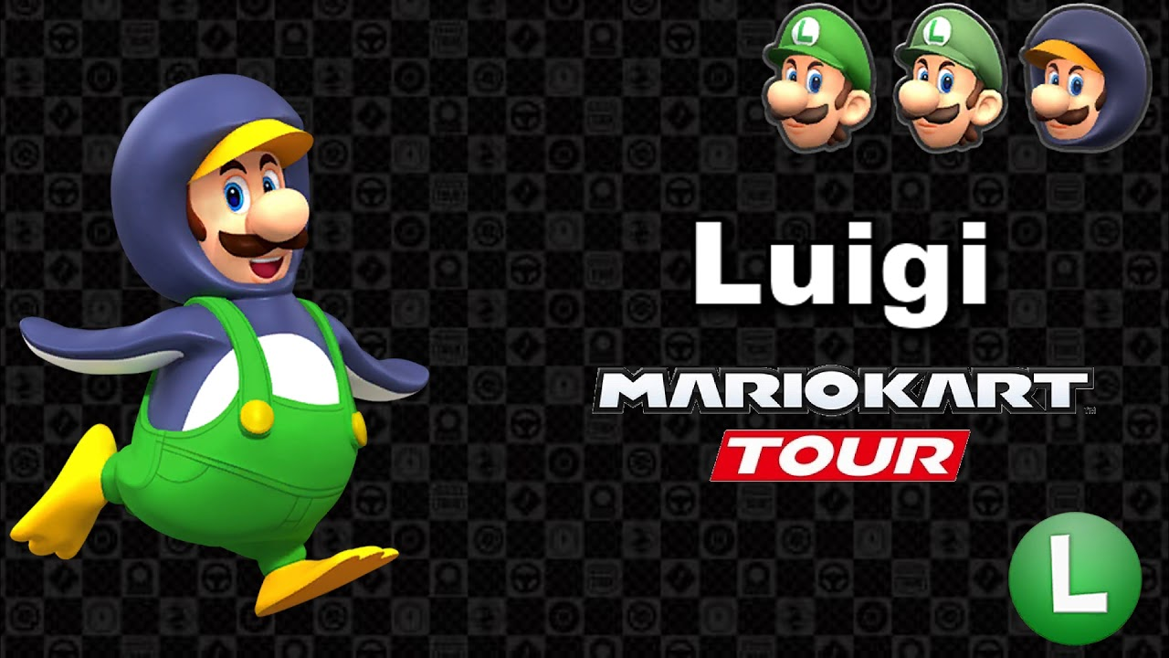 Mario Kart Tour Luigi S Voice Lines Youtube