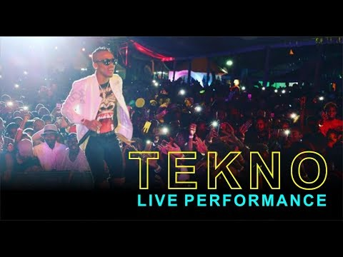 TEKNO FIRST EVER LIVE BAND PERFORMANCE | UGANDA 2017