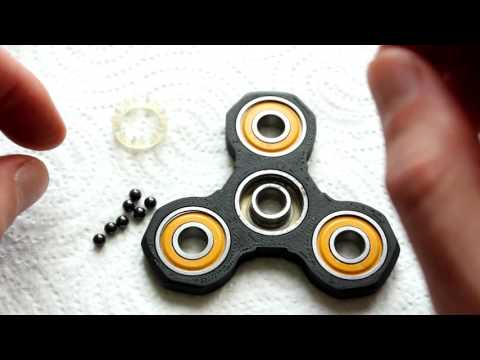 Thumbnail: Disassemble/Clean/Reassemble Fidget Spinner Ceramic Bearings | DIY