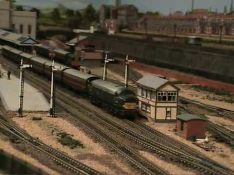 Youtube n gauge model railways Train Model Club Eighty