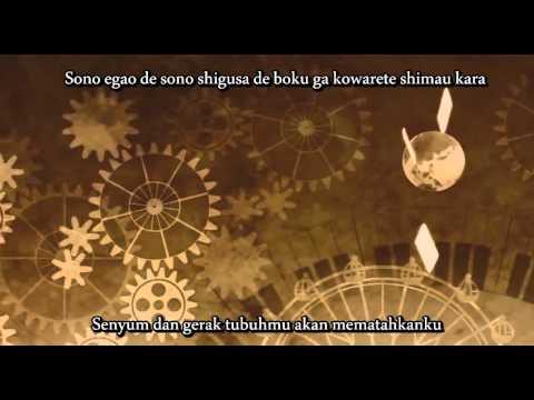 Gero - Karakuri Pierrot- Piano ver. [Sub Indo + Romaji Lyrics]