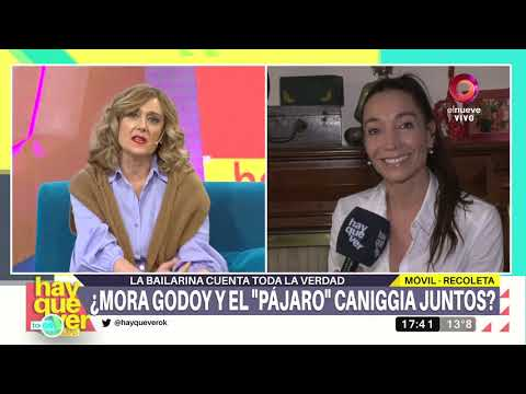 Video - Mora Godoy - Charlotte Alex Caniggia