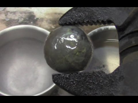 Watch a Chunk of Frozen Gasoline Get Set on Fire - VICE