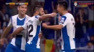 UEFA Europa League RCD Espanyol vs FK Zorya Luhansk 3-1 All Goals Highlights