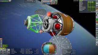 Kerbal Space Program RO Sandbox - Mars Transit Vehicle