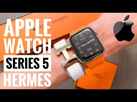 САМЫЕ ДОРОГИЕ APPLE WATCH - HERMES Series 5. Распаковка