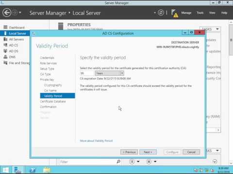 How to Configure Secure LDAP (LDAPS) on Windows Server 2012