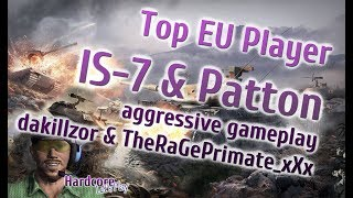 WORLD OF TANKS: [FAME] 2 x amazing aggressive game play from top EU players
